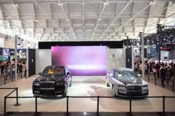 劳斯莱斯汽车莅临2021中国(天津)国际汽车展览会